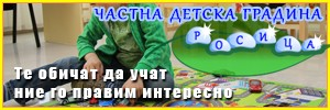 Частна детска градина Росица - гр. София