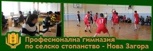 Професионална гимназия по селско стопанство - Нова Загора