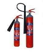 Стационарен и преносим пожарогасител