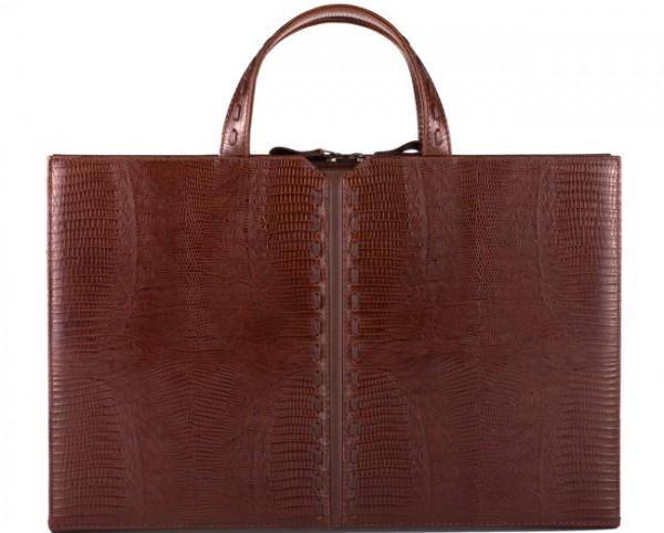 дамска кожена бизнес чанта