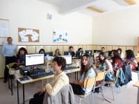 Кабинет по информатика в ПГСС НИКОЛА ПУШКАРОВ